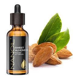Mandelöl von Nanoil für Haut und Haare
